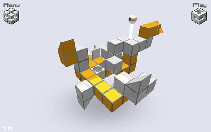 G.cube puzzle en 3D para Android