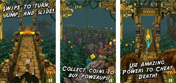 temple run android juegos